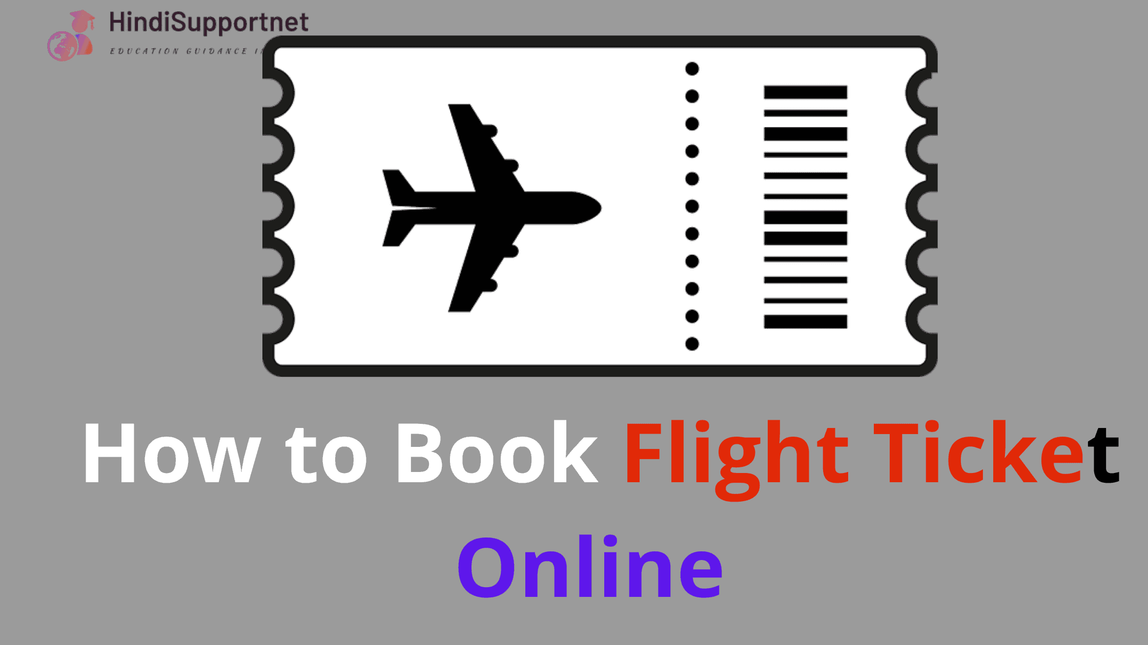 How to Book Flight Ticket Online (1)
