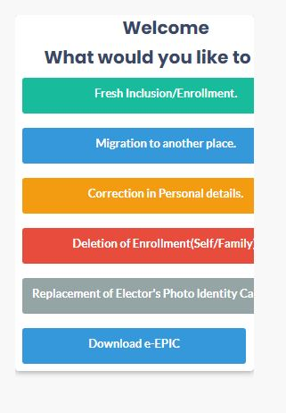 Download Voter id Card 4