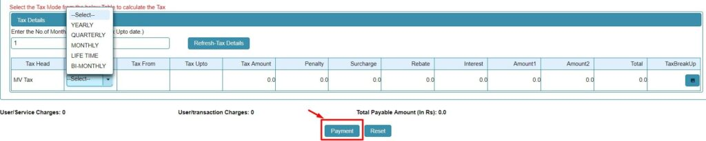 Pay Road Tax Online 5